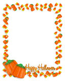 Halloween-Candy border  Stock Images
