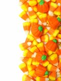 Halloween candy border Stock Image