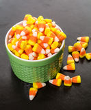 Halloween Candy Corn Stock Photography