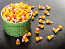 Halloween Candy Corn Royalty Free Stock Photography