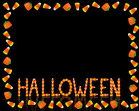Halloween Candy Corn border Stock Photo