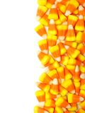 Halloween candy corn border Stock Photography