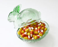 Halloween candy corn . Stock Photography