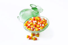 Halloween candy corn . Royalty Free Stock Photography