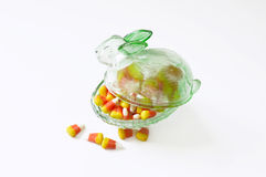 Halloween candy corn . Royalty Free Stock Images