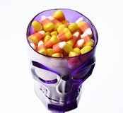 Halloween candy corn . Stock Images