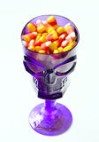 Halloween candy corn . Stock Photo