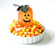 Halloween candy corn . Royalty Free Stock Photo