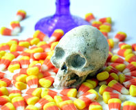 Halloween candy corn . Royalty Free Stock Photos