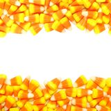 Halloween candy frame Royalty Free Stock Photo
