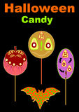 Halloween candy  illustration Royalty Free Stock Image