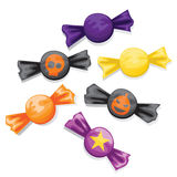 Halloween candy set Stock Images