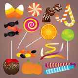 Halloween Candy Set Royalty Free Stock Photos
