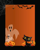 Halloween Card 01 Stock Images