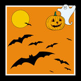 Halloween card Royalty Free Stock Photo