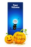 Halloween Card Stock Photo