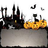 Halloween card Stock Image