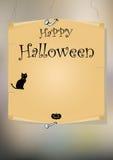 Halloween  card Royalty Free Stock Photos