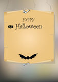 Halloween  card Stock Images