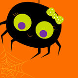 Halloween card. Invitation -  illustration Stock Photography