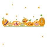 Halloween card. Invitation -  illustration Royalty Free Stock Photo