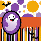 Halloween card. Invitation -  illustration Stock Images