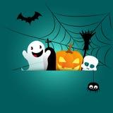 Halloween card. Invitation -  illustration Royalty Free Stock Photography