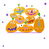 Halloween card Royalty Free Stock Image