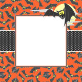 Halloween card background Royalty Free Stock Photo