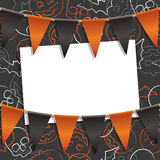 Halloween card decoration Stock Photo