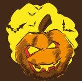 Halloween Card Design Stock Photos