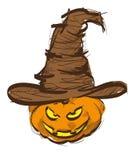Halloween Card Design Stock Images