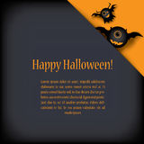 Halloween card eps10 vector illustration Stock Photography