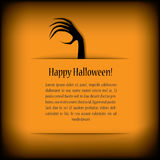 Halloween card eps10 vector illustration Royalty Free Stock Photos