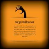 Halloween card eps10 vector illustration Royalty Free Stock Photos