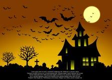 Halloween card. Royalty Free Stock Photo