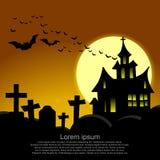 Halloween card. Royalty Free Stock Image