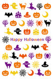 Halloween card. Happy Halloween. Stock Images