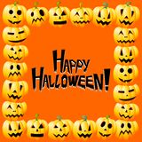 Halloween card - Happy Halloween vector illustration