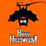 Halloween card - Happy Halloween royalty free illustration
