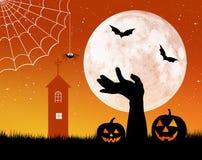 Halloween card Royalty Free Stock Image