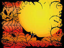 Halloween Card Or Background Royalty Free Stock Photo