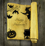Halloween card 2 Stock Photography