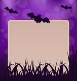 Halloween card with place for text Royalty Free Stock Photo