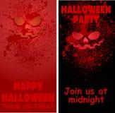 Halloween card 04 rad Stock Image