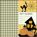 Halloween Card, Vector Royalty Free Stock Images