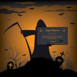 Halloween card vector Stock Photo