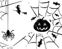 Halloween card vector  Royalty Free Stock Photos