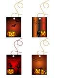 Halloween cards Stock Image