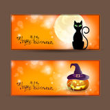 Halloween cards Royalty Free Stock Photo